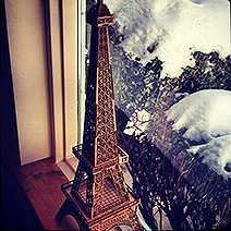Jamieson Laser Eiffel Tower Model: Wood Cutting