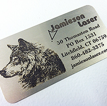 Jamieson Laser Train: Stainless Steel Laser Marking